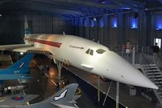 Concorde prototype G-BSST on display at Yeovilton