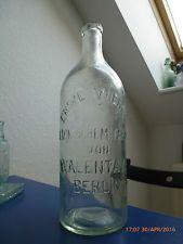 alte antike Flasche aus Berlin,Erste Wiener Lack-&Chem.Fabrik,Walenta,Wien,Glas