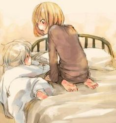 """Can I come up and play, Mello?"""