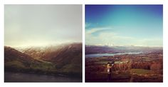 Instagramming in the Lake District.