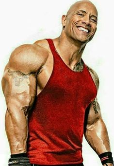 Dedicated to Dwayne Johnson The Rock Dwayne Johnson, Rock Johnson, Dwayne The Rock, Bodybuilder, Wwe The Rock, Fitness Gym, Male Fitness Models, Muscle Body, Hollywood Actor