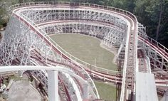 Raging Wolf Bobs, Geauga Lake (Ohio) I miss Geauga Lake :( Geauga Lake Amusement Park, Amusement Park Rides, Abandoned Amusement Parks, Abandoned Places, Roller Coaster Ride, Roller Coasters, Goodbye Yellow Brick Road, Riders On The Storm, The Buckeye State