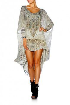 Camilla - Moorish Idol / Round Neck Kaftan