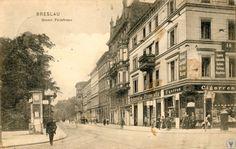 Lata 1900-1930 , Krasińskiego, skrzyżowanie z Tragutta. Po lewej najstarszy cmentarz żydowski na miescu którego stoi