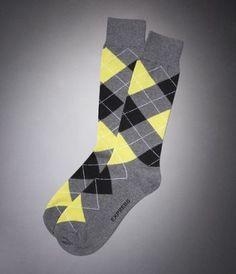 Argyle Socks from Express
