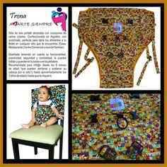 Trona Amarte Siempre Ref: 002, Envíos a nivel nacional sin costo adicional. Furniture, Home Decor, Fabric Chairs, High Chairs, Hearts, Colors, Decoration Home, Room Decor, Home Furnishings