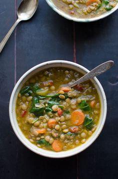 Lentil Soup - Taste Love and Nourish