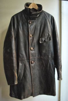 1938s~1945s french aviator jacket and trousers ~Repinned Via oriental workforce