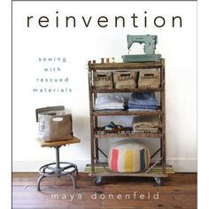 """""""Reinvention"""" by Maya Donenfeld - looks like a fun book!"""