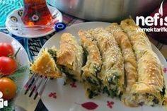 Ispanaklı Sirkeli Börek Tarifi – Nefis Yemek Tarifleri