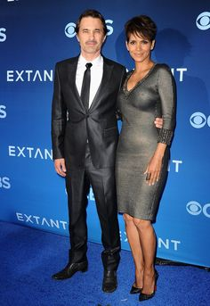 Pin for Later: This Week's Can't-Miss Celebrity Pics!  Halle Berry and her husband, Olivier Martinez, stunned at her Extant premiere in LA on Monday.
