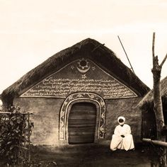 """Africa   """"Mosquée Bamoun, Cameroun.""""   ©Société des missions évangéliques de Paris.  Photo taken prior to 1970s. // PP0176472"""