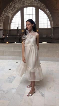 Organza Dress, Silk Organza, Ivory Dresses, Cute Dresses, Evening Dresses, Summer Dresses, Bridal Gowns, Wedding Dresses, Princesa Diana