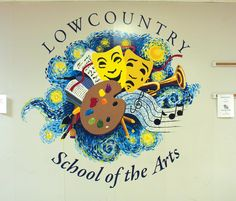 Lowcountry School of the Arts mural