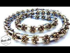 "(80) ""Aphrodite"" Necklace | Simple Design | Tutorial - YouTube"