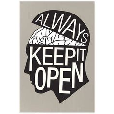 (13x19) Always Keep It Open Art Print Poster null,http://www.amazon.com/dp/B00CRMY0GO/ref=cm_sw_r_pi_dp_I2C4sb0EP8915YKY