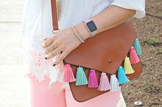 cute tassel purse .Rebecca Minkoff #gifts