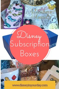 A list of all of the Disney related subscription boxes out there!