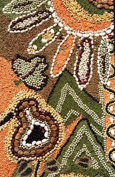 dried bean mosaics