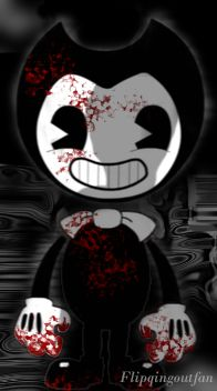 A quick picture I decided to make of Bendy from the game Bendy and the Ink Machine