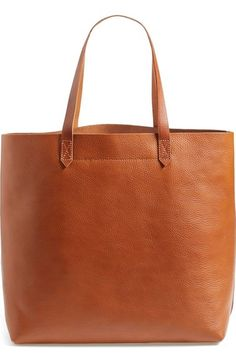 Madewell 'The Transport' Leather Tote available at #Nordstrom