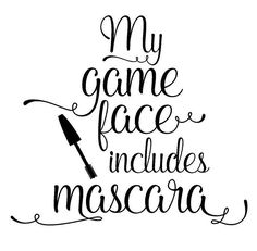 Younique Game Face Epic Mascara - Makeup Tips Lips Mascara Quotes, Makeup Quotes Funny, Beauty Quotes Makeup, Makeup Puns, Farmasi Cosmetics, Foundation Cosmetics, Younique Presenter, Game Face, Beauty Consultant