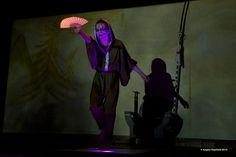 Robin Melick as one of the Witches. -- KWLT's 2013 production of Macbeth, directed by Jonathan C. Dietrich