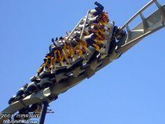 Batman: The Ride photo from Six Flags Magic Mountain