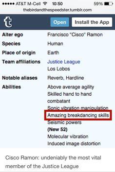 Cisco Ramon for the win
