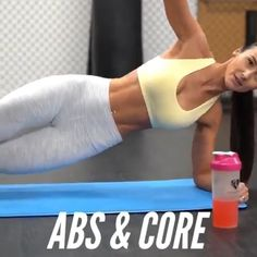 Get lean abs - Ab Workout & Fitness Exercise Fitness, Body Fitness, Excercise, Health Fitness, Physical Fitness, Shape Fitness, Fitness Exercises At Home, Fitness Style, Fitness Design