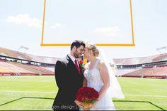 Cyclone Football Wedding  👰🏼 🏈   Dalton & Megan