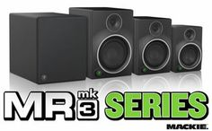 New Mackie MR Mk3 Series Studio Monitors are now available online! http://www.djkit.com/search.php?manufacturer&needle=Mackie+MR+Mk3