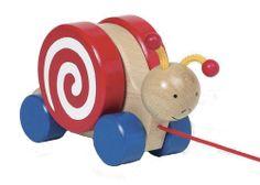 Pull Along Snail #