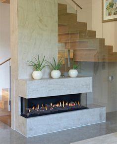 foyer ceramique contemporain recherche google d co pinterest foyers et recherche. Black Bedroom Furniture Sets. Home Design Ideas