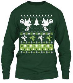 Christmas Moto 2014 | Teespring Christmas Sweater, the motocross version