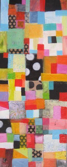 mixed media painting, Michelle Daisley Moffitt
