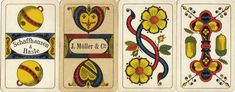 Alta Carta Playing Cards: Swiss Suited Müller Jass Switzerland