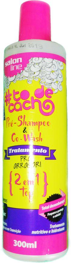 Cowash e Pre Shampoo 2 em 1 Top To de cacho da Salon Line (Tratamento pra arrasar) #cowash #nopoo #semshampoo #lowpoo #shampooleve #cabelo #semsulfato #semsilicone #semparabenos. #murumuru #oleodecoco #preshampoo #2em1 #multifuncinal #pink #cachos #salonline #TodeCacho #vegan #crueltyfree