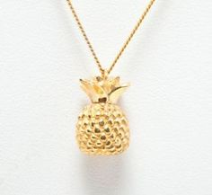 Pineapple Necklace by Laura Lee Jewellery