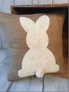 almofada pascoa decoração