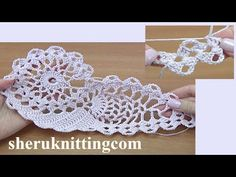 How to Crochet Motif Tutorial 45 Crochet Bikini Pattern, Crotchet Patterns, Crochet Motif, Crochet Designs, Crochet Doilies, Free Crochet, Crochet Cord, Crochet Hooks, Project Yourself