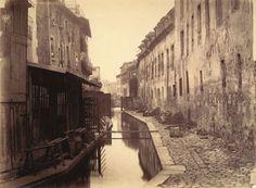 Charles Marville Bords de la Bièvre (au bas de la rue des Gobelins) (Banks of the Bièvre River at the Bottom of the rue des Gobelins) (fifth...