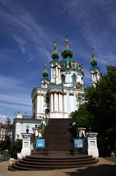 St. Andrew`s Church, Kyiv, Ukraine.