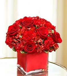 """""""Flowers of Love"""" - RED (1800flowers.com)"""