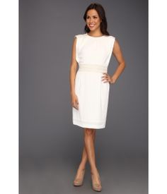 Elegant Ivory Dress.