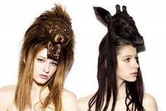 embrace your inhairitance by asher jay, animal sculptured hair styles // Soooo ferkin' cool. Crazy Hair Day At School, Crazy Hair Days, Pinterest Design, New Hair, Your Hair, Avant Garde Hair, Hair Issues, Wig Making, Wild Hair