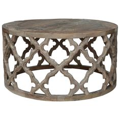 Fontana Coffee Table - Recycled Elm - great small area coffee table