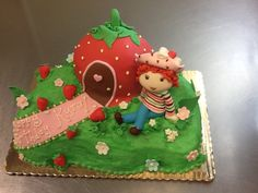 Strawberry Shortcake Cake!