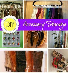 DIY Accessory Storage - Bitz