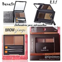 "This one I disagree with, I have used Benefit Brow zings for years ( the one palette is 3 years and still half full) the Elf "" dupe"" is poor quality extremely waxy and poorly pigmented. Just because they look alike doesnt make this a good dupe. Elf Products, Best Makeup Products, Beauty Products, Makeup Swatches, Drugstore Makeup, All Things Beauty, Beauty Make Up, Beauty Dupes, Beauty Hacks"